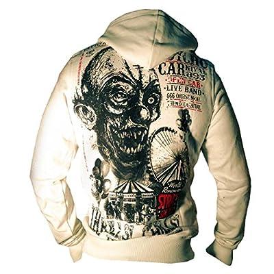 Yakuza ORIGINAL Kapuzensweatshirt - HOB 491 vanilla ice BRANDNEU S-5XL
