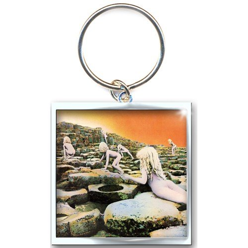 Led Zeppelin Houses Of The Holy Keychain (Official Licensed Product)