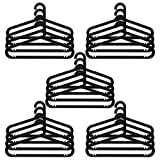 20 Piece IKEA BAGIS Hanger Set (Black)