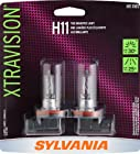 Sylvania H11 XV XtraVision Halogen Headlight Bulb, (Pack of 2)