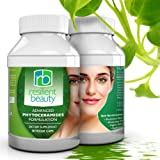 Best Phytoceramides Capsules for Skin Restoration. 100% Natural Anti-Aging Supplement Provides Advanced Moisturizing and Hydration for Skin, Nails, Hair, and Facial Rejuvenation - 350MG Skin Vitamins - Wrinkle Reduction + Natural Facelift to Prevent Signs of Aging without Botox