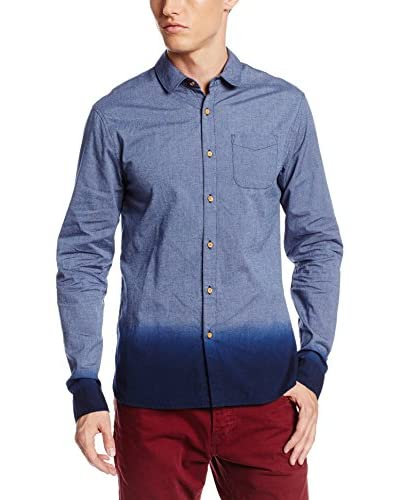 Scotch & Soda Men's Chambray Ombre Effect Shirt
