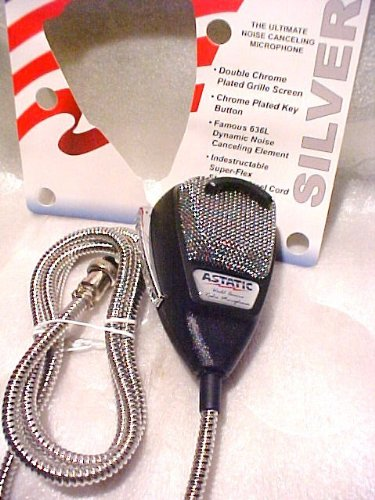 Redman Cb Tuned Astatic (302-10001Se) 636Lse 4-Pin Noise Canceling Cb Microphone