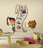 Roommates Home Indoor Room Decorative Wallpaper Sticker Jake and the Never Land Pirates Growth Chart Wall Decals