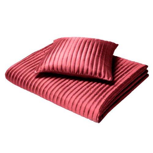 Catherine Lansfield CI Home - Colcha, color rojo
