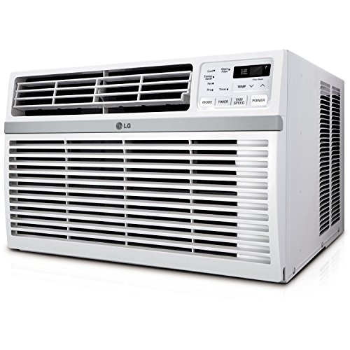 LG 8,000 BTU 115V Window-Mounted AIR Conditioner with Remote Control (8000 Btu Air Conditioner compare prices)