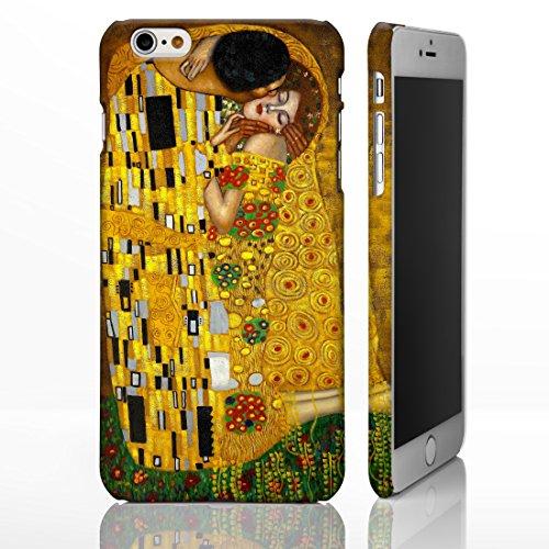 Cover per iPhone Cover con i quadri degli artisti più famosi., plastica, The Kiss - Gustav Klimt, iPhone 5/5S