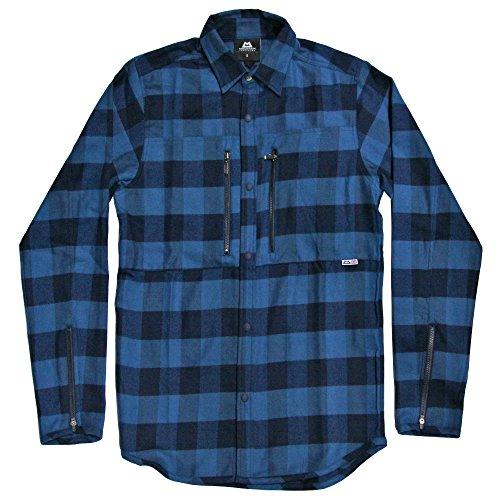 MOUNTAIN EQUIPMENT(マウンテンイクイップメント) Buffalo Check Shirt 421815 (メンズ) (BLUE, M)