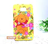 Licensed Disney Winnie the Pooh Samsung Galaxy SII S2 S II 2 (i9100/International) Soft Plastic Protective Back Case Cover