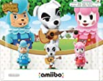 amiibo Animal Crossing 3er Figuren-Se...