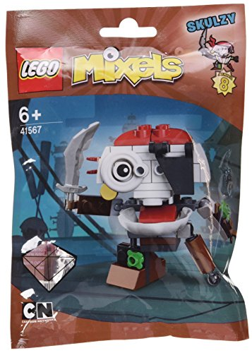 Lego Mixels 41567 - Set Costruzioni Mixels Serie 8 Skulzy