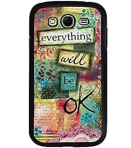 Printvisa Multicolour Confidence Quote Back Case Cover for Samsung Galaxy Grand Neo::Samsung Galaxy Grand Neo i9060