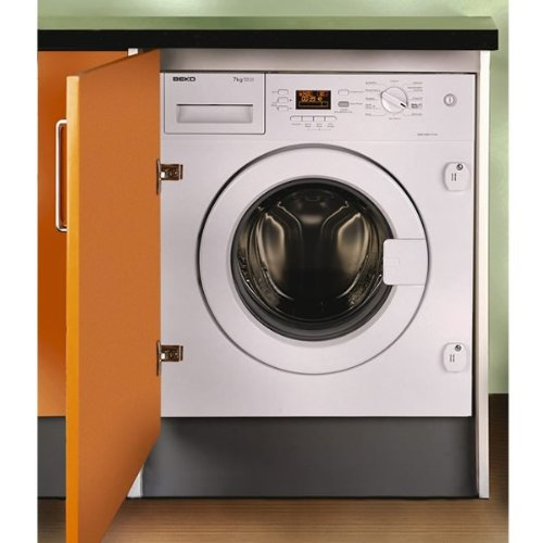 Beko WMI71641 A+ 7Kg 1600 Spin 16 Programmes Integrated Washing Machine in White