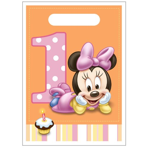 Minnie 1st Treat Sacks - 8/Pkg. - 1