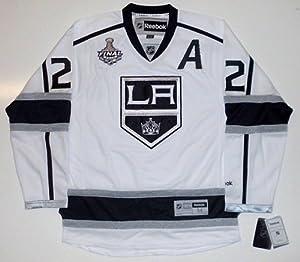Matt Greene 2012 Stanley Cup Los Angeles Kings Reebok Away Jersey Sewn On Patch - X-Large