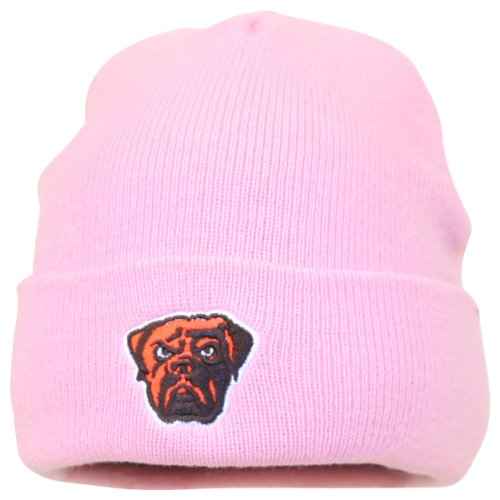 Women''s NFL Pink Classic Cuffed Winter Knit Hat - Cleveland Browns at Amazon.com