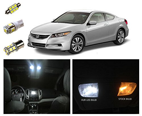 2003 2012 Honda Accord Led Package Interior Tag Reverse Lights 10 Pieces 03 12 Accord