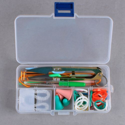 Knitting Tools And Accessories : Honbay basic knitting tools accessories supplies with case