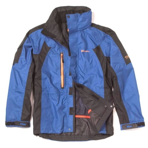 Bear Grylls Men's Mountain Jacket,Cobalt/Black,XX-Large