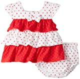 Absorba Baby-Girls Newborn Print Two Piece Short Set