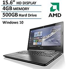 buy 2016 Newest Lenovo 15.6-Inch Laptop (Amd Dual-Core Processor, 4Gb Ram, 500Gb Hdd, Hd Screen, Dvdrw, Webcam, Hdmi, Vga, Usb 3.0, Bluetooth, 802.11Bgn Wifi, Windows 10)