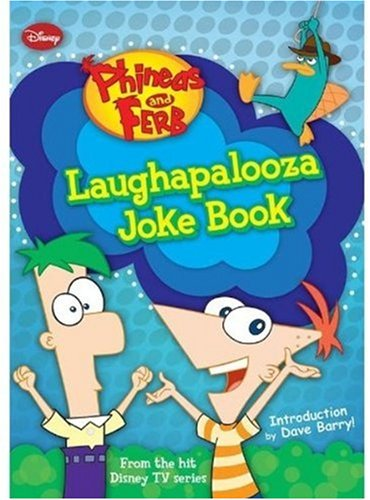 Image for Phineas and Ferb Laughapalooza Joke Book