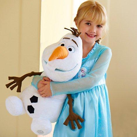 Disney ディズニー Frozen Olaf Plush フローズン アナと雪の女王 オラフ ぬいぐるみ 18インチ 46cm