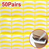 SODIAL(R) 50 Pair Lint Free Under Eye Gel Collagen Patches Pads For Lash Eyelash Extension