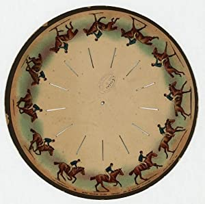 Photo: The zoopraxiscope--Horse galloping--Eadweard Muybridge
