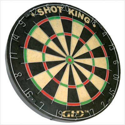 Fat Cat Shot King Steel Tip Dartboard