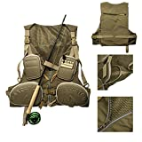 Lencool Fly Fishing Vest Adjustable Size