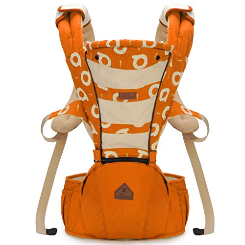 lanova-the-best-baby-sling-carrier-can-wrap-both-front-and-back100-cotton-baby-carrierorange