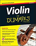 img - for Violin For Dummies, Book + Online Video & Audio Instruction book / textbook / text book