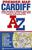 img - for Cardiff Premier Map (A-Z Premier Street Maps) book / textbook / text book