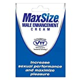 Max size male enhancement cream - individual packet (package of 4)