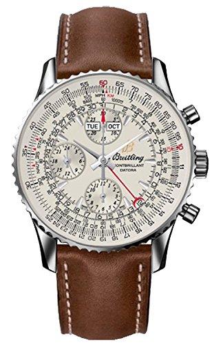 breitling-montbrillant-datora-orologio-uomo-quadrante-argento-cassa-acciaio-cinturino-pelle-marrone