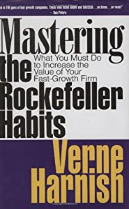 "Cover of ""Mastering the Rockefeller Habit..."