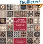 Japanese Taupe Quilts: 125 Blocks in...