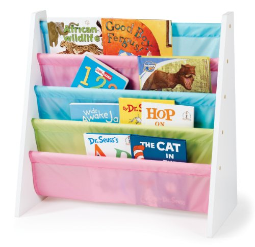 Tot Tutors WO594 Pastel Color Book Rack