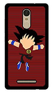 """Humor Gang Fighter Cartoon Printed Designer Mobile Back Cover For """"Xiaomi Redmi Note 3"""" (3D, Glossy, Premium Quality Snap On Case)"""