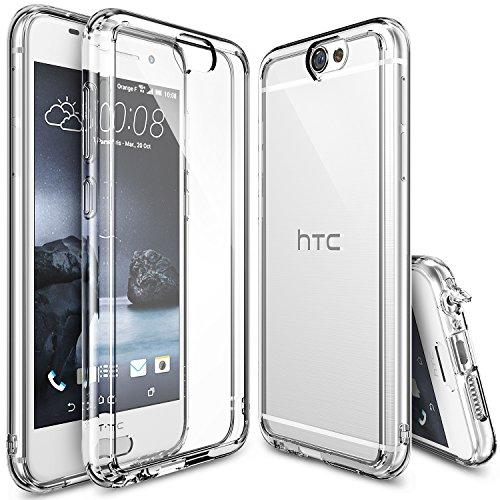 htc-one-a9-hulle-ringke-fusion-kristallklarer-pc-tpu-dampfer-fall-geschutzt-schock-absorbtions-techn