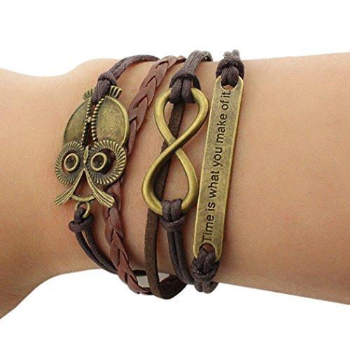 tiempo-pawnshop-retro-bronce-buho-tiempo-de-simbolo-de-infinito-diseno-unico-trenzado-ajustable-puls