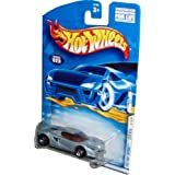 Mattel Hot Wheels 2001 First Editions Series 1:64 Scale Die Cast Metal Car # 13 Of 36 - Silver Luxur