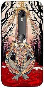 Snoogg Thinker'S Soul Designer Protective Back Case Cover For Motorola G 3Rd ...