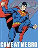Licenses Products DC Comics Superman Come At Me Bro Jumping Blue Sticker by C&D Visionary Inc.
