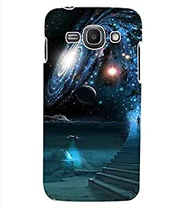 ColourCraft The Galaxy Design Back Case Cover for SAMSUNG GALAXY ACE 3 3G S7270