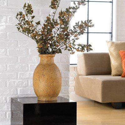 PoliVaz DV-STONE-SBOT-L-BGE Large Stoneware Natural Floor Vase
