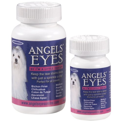 Angels' Eyes Tear-Stain Eliminator for Dogs, 120-Gram Bottle