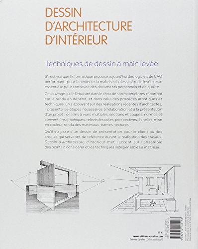 Dessin d 39 architecture d 39 interieur techniques de dessin a for Dessin architecture interieur
