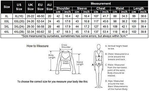 Meaneor Women's Plus Size 3/4 Sleeve Cocktail Wrap Dress(Black, XXX-Large)